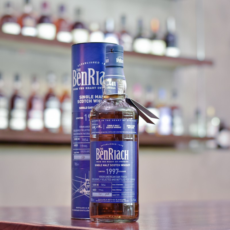 Benriach 19 Year Old 1997 Taiwan Exclusive Cask 7854