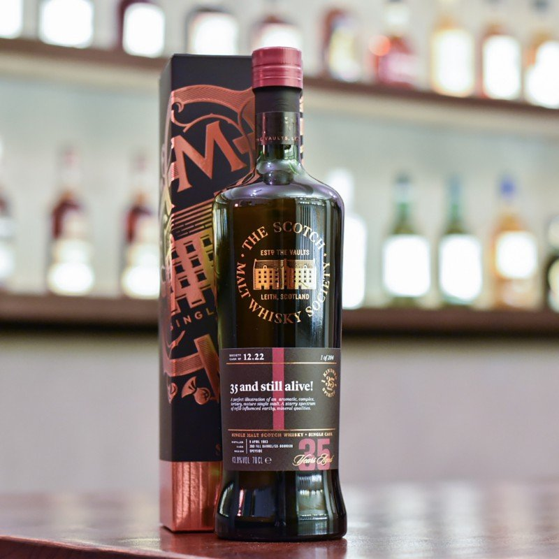 SMWS - 12.22 BenRiach 35 Year Old 1983