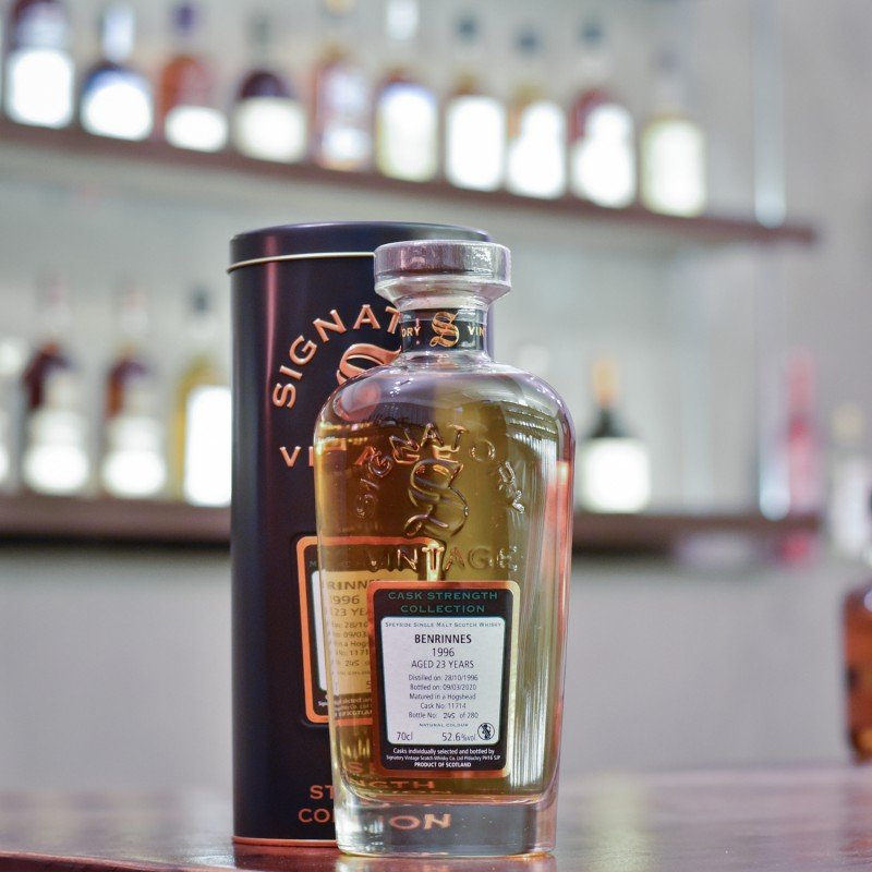 Signatory - Benrinnes 23 Year Old 1996 Cask 11714
