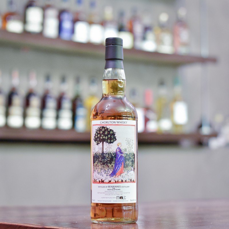 Chorlton Whisky - Benrinnes 23 Year Old 1997 Joint Bottling with The Rare Malt