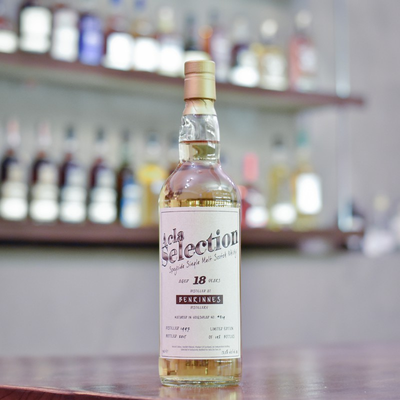 Acla Selection - Benrinnes 18 Year Old 1997 Cask 819