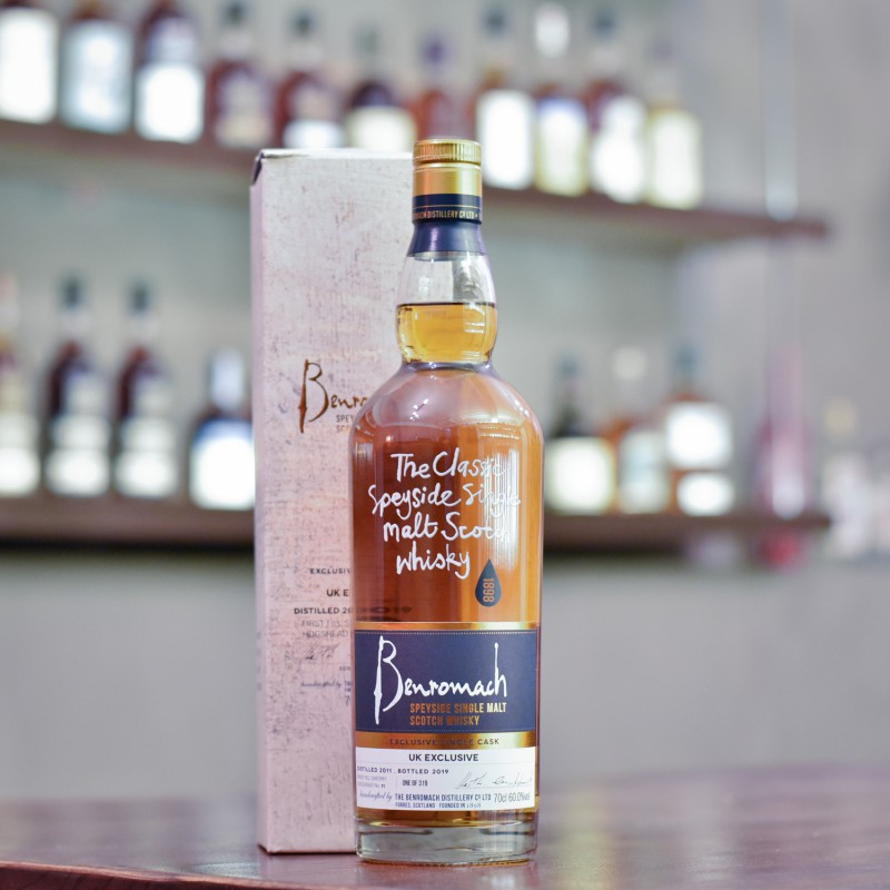 Benromach 7 Year Old 2011 UK Exclusive Cask 11