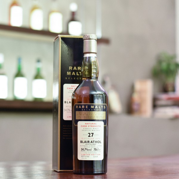 Blair Athol 27 Year Old 1975 Rare Malts Selection