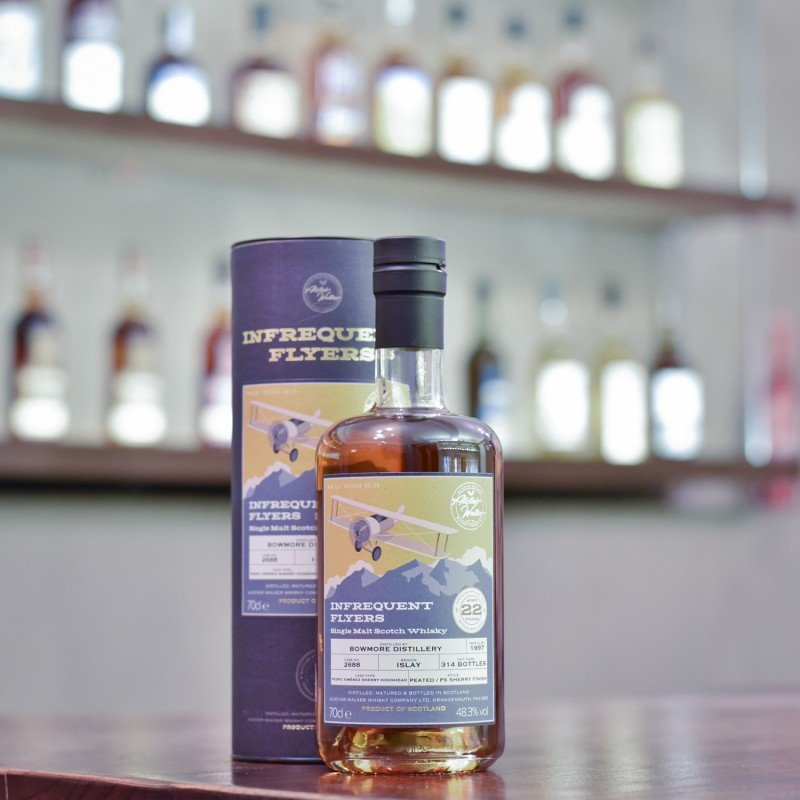 AWWC - Bowmore 22 Year Old 1997 Infrequent Flyers Cask 2688