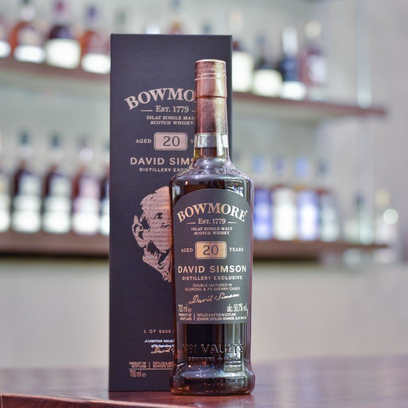 Bowmore 20 Year Old David Simson Distillery Exclusive