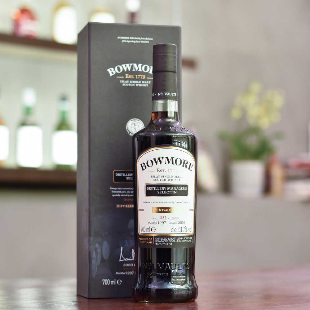 Bowmore 21 Year Old 1997 Distillery Manager's Selection