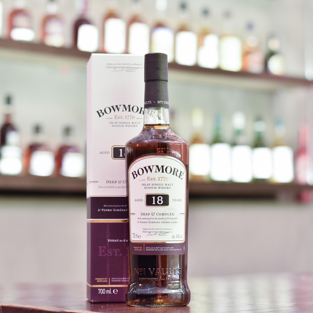 Bowmore 18 Year Old Deep & Complex
