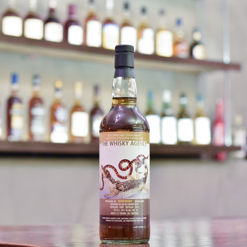 The Whisky Agency - Bowmore 23 Year Old 1989 Sherry Butt