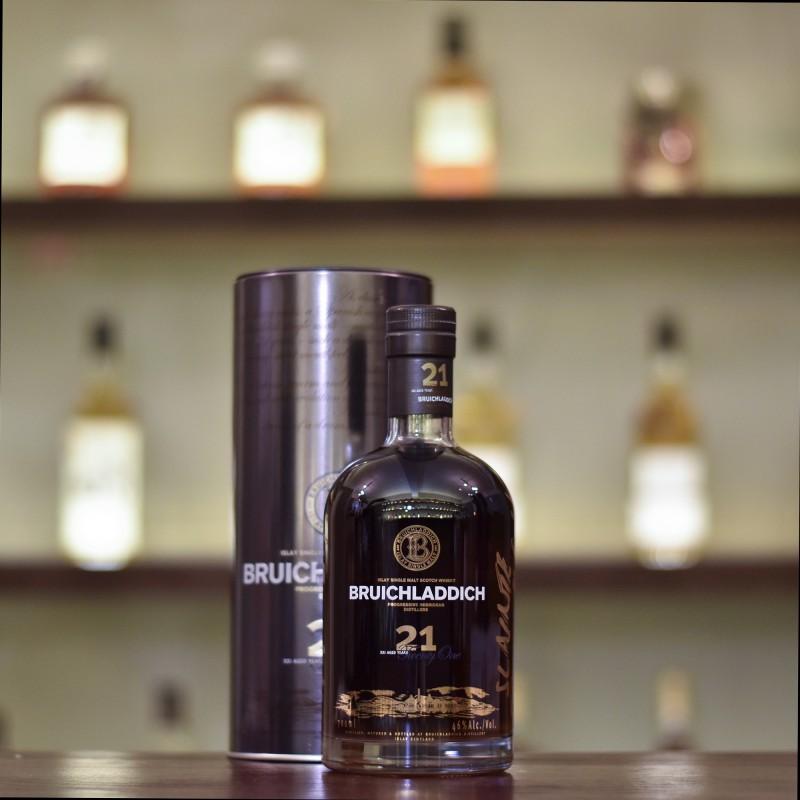 Bruichladdich 21 Year Old - Older Bottling (With Jim McEwan's Signature)