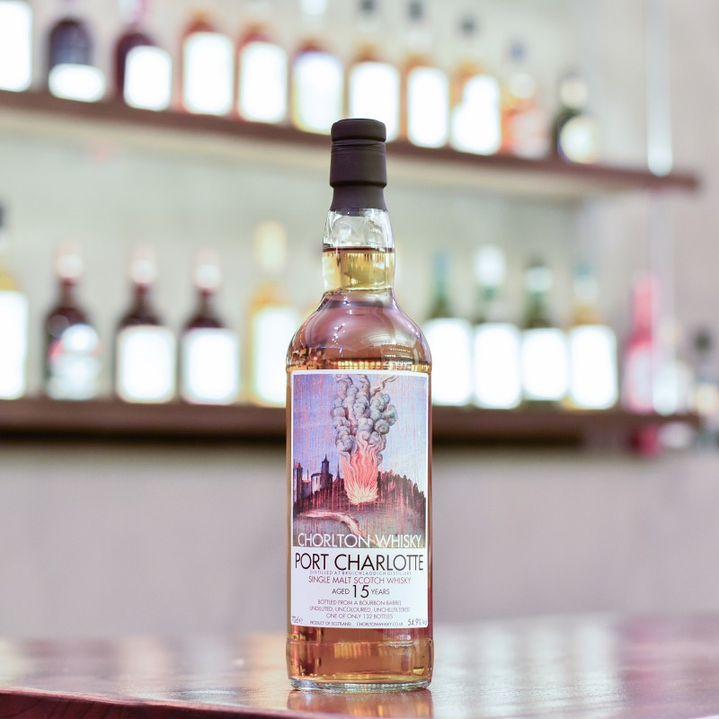 Chorlton Whisky - Port Charlotte 15 Year Old
