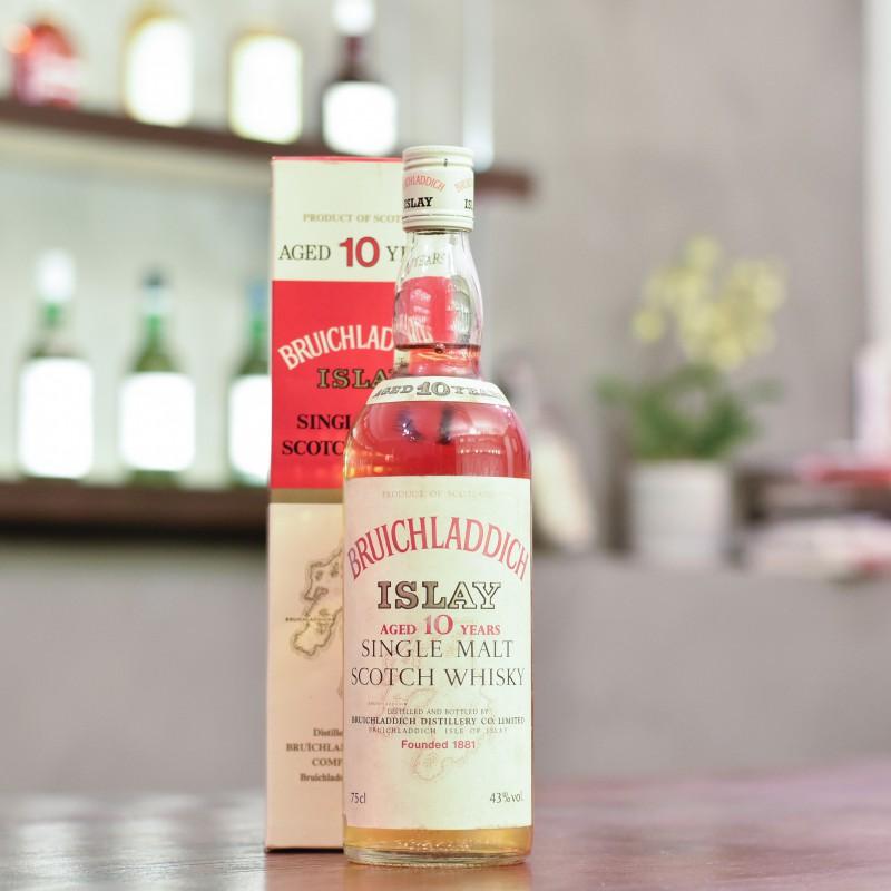 Bruichladdich 10 Year Old - 1980s Bottling