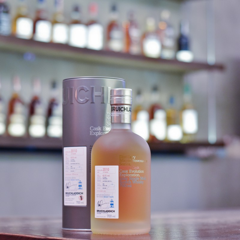Bruichladdich 10 Year Old 2010 for Whisky Taste Cask 3088