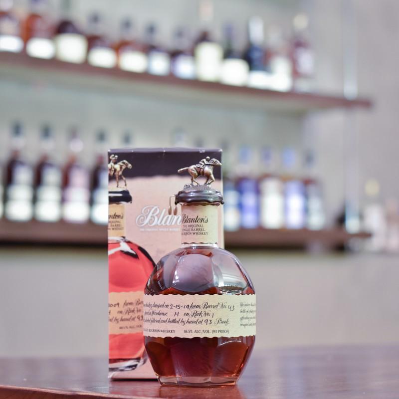 Blanton's Single Barrel Bourbon Whiskey Cask 43