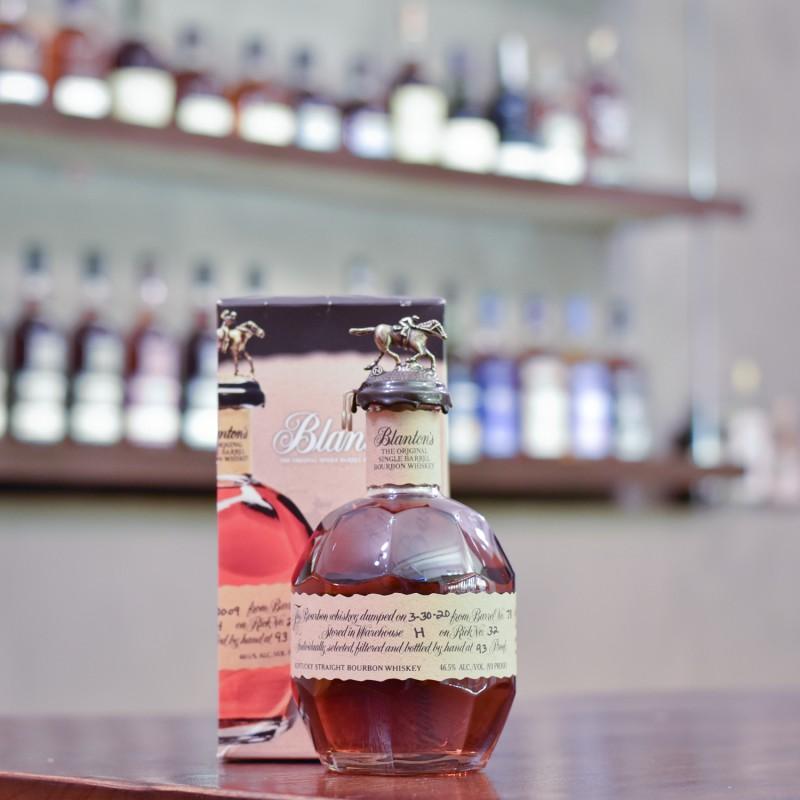 Blanton's Single Barrel Bourbon Whiskey Cask 78