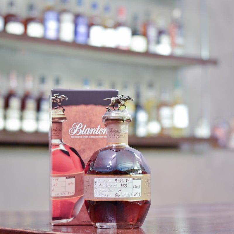 Blanton's Straight From The Barrel Bourbon Whiskey Cask 355