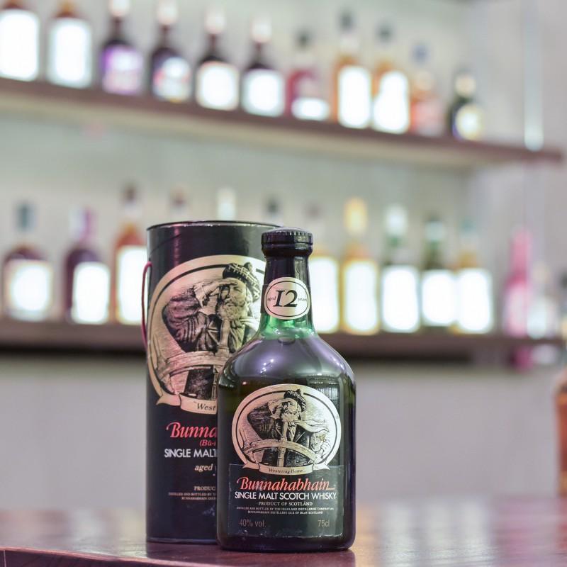 Bunnahabhain 12 Year Old - 1980s Bottling 750ml