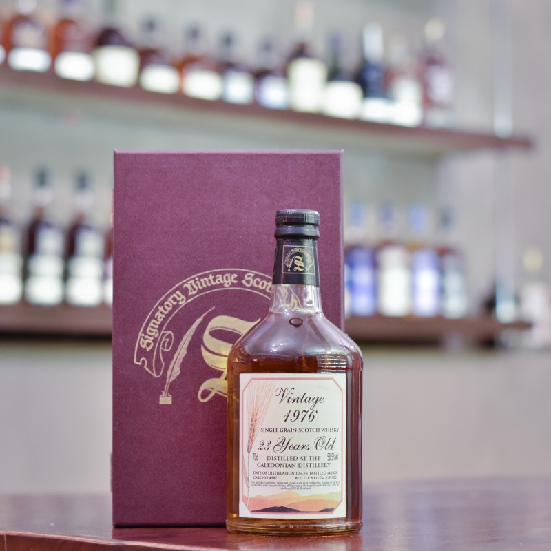 Signatory - Caledonian 23 Year Old 1976 Cask 4987