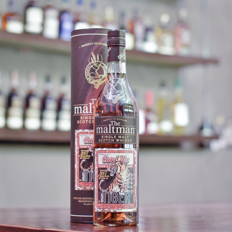 The Maltman -  Caol Ila 11 Year Old 2007 Tiger's Finest Selection Cask 213