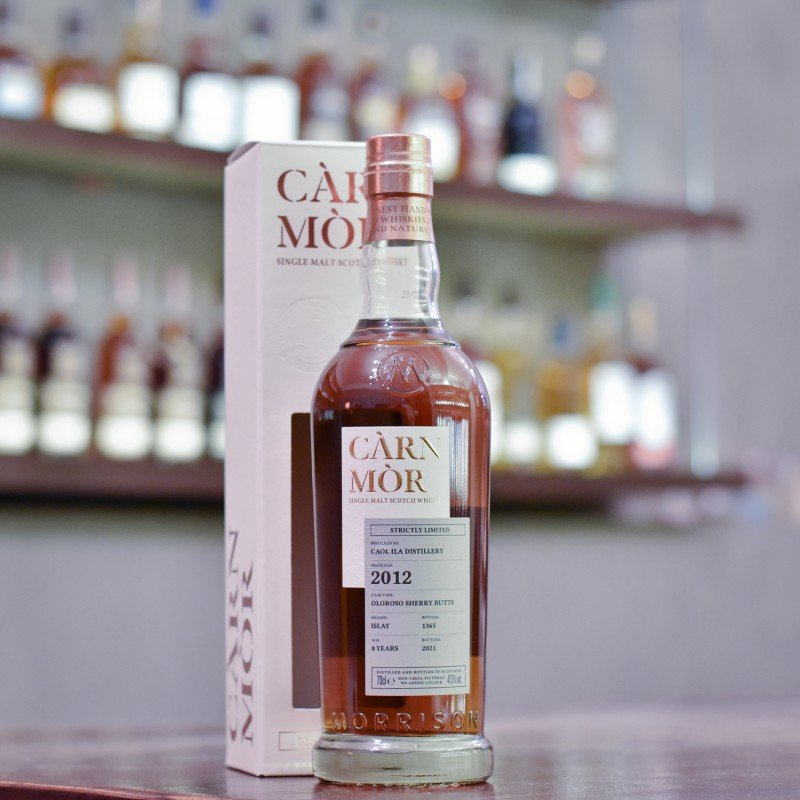Carn Mor - Caol Ila 8 Year Old 2012 Strictly Limited Edition