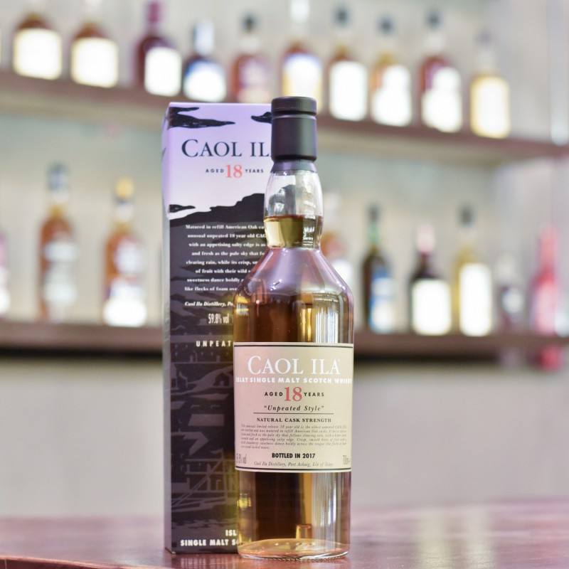 Caol Ila 18 Year Old Unpeated 2017