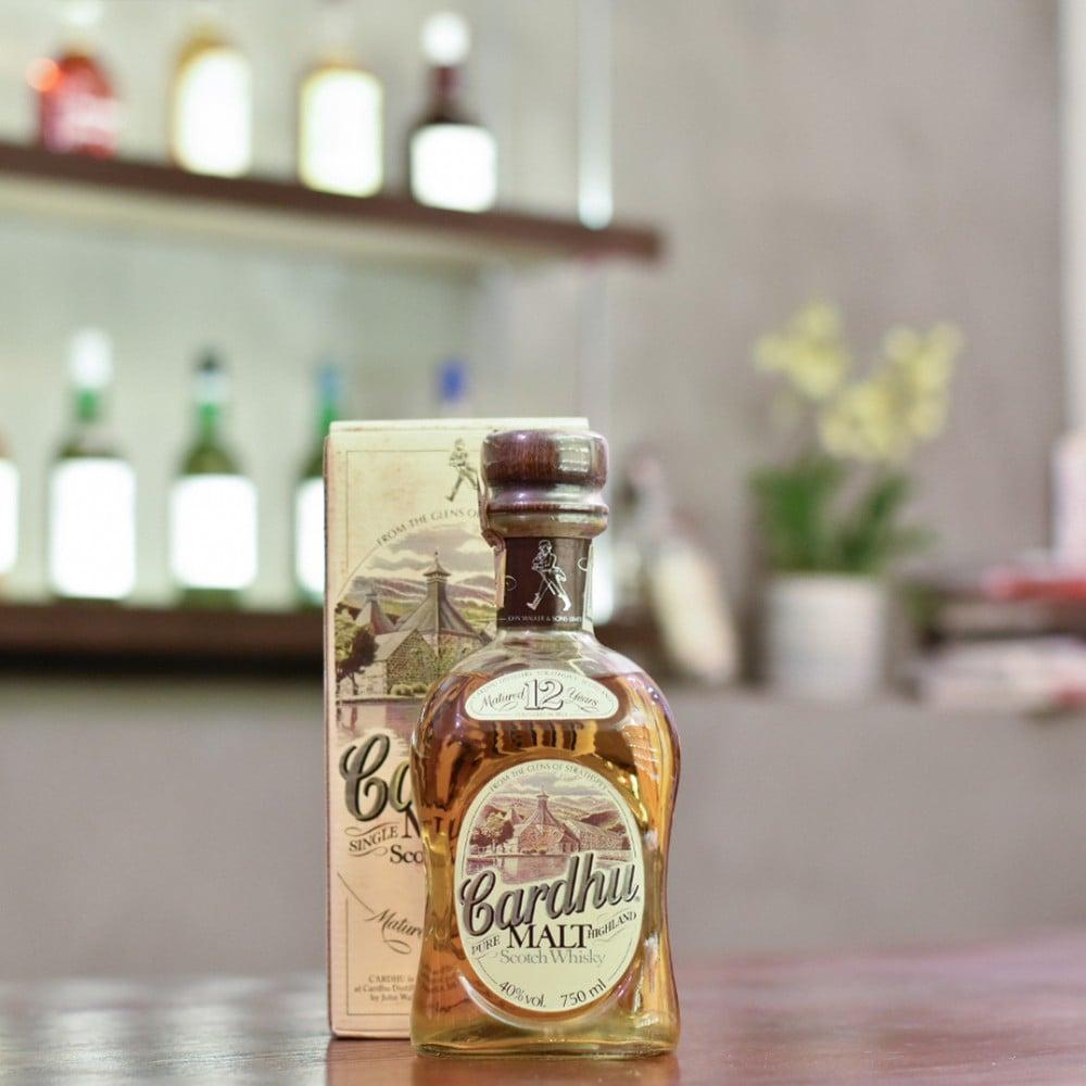 Cardhu 12 Year Old - 1980s Bottling