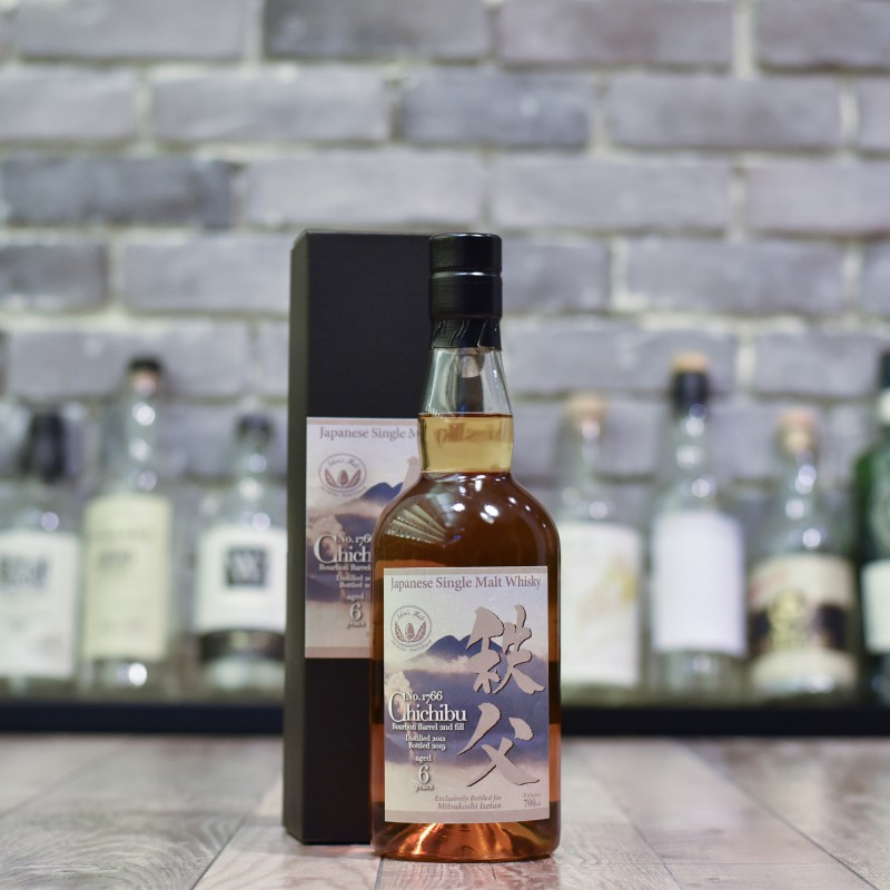 Chichibu 6 Year Old 2012 for Mitsukoshi Isetan Bourbon Barrel Cask 1766