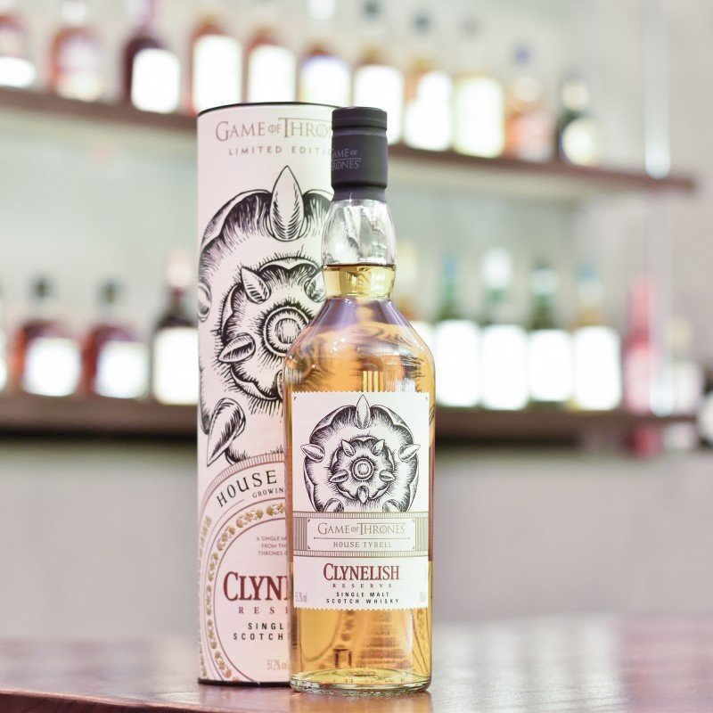 Clynelish Reserve - Game Of Thrones House Tyrell