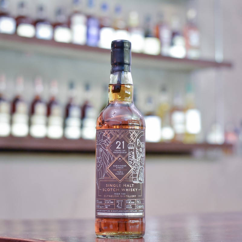 Elixir Distillers - Clynelish 21 Year Old 1999 for TWE & The Mash Tun Tokyo Cask 305054