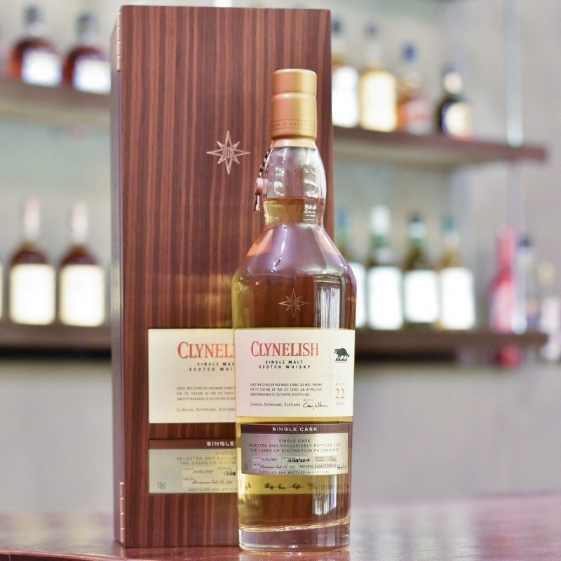 Clynelish 22 Year Old 1997 Cask of Distinction Cask 5256