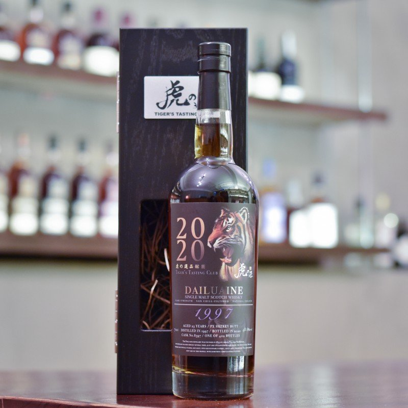 Muirhead's - Dailuaine 23 Year old 1997 Tiger's Finest Selection Cask 8397