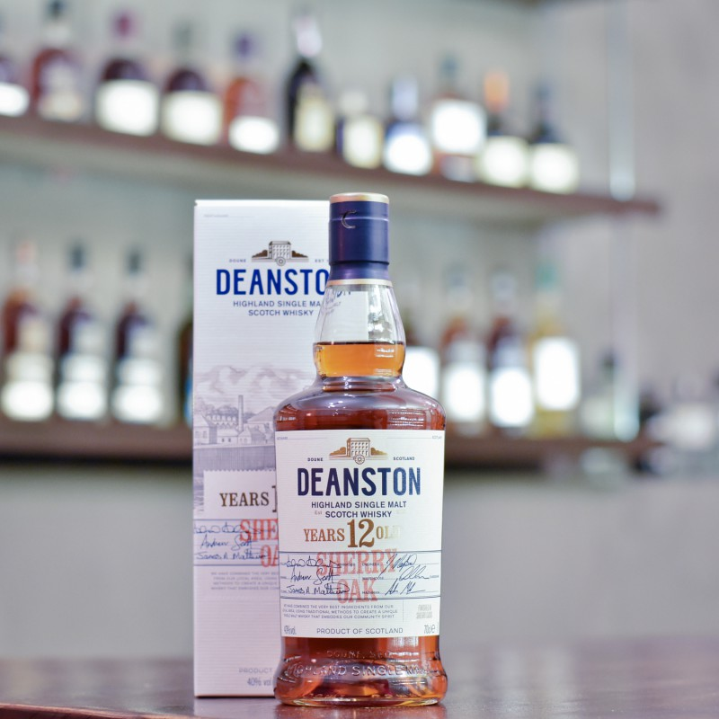 Deanston 12 Year Old Sherry Oak