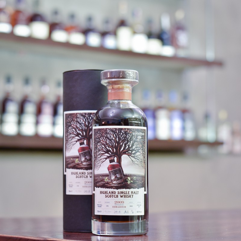 Edradour 11 Year Old 2009 Tiger's Finest Selection Cask 370