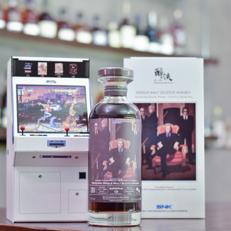 Edradour 10 Year Old 2009 Celebration of NEOGEO 30th Annersary & WhiskyFest Takao 2020 Cask 361