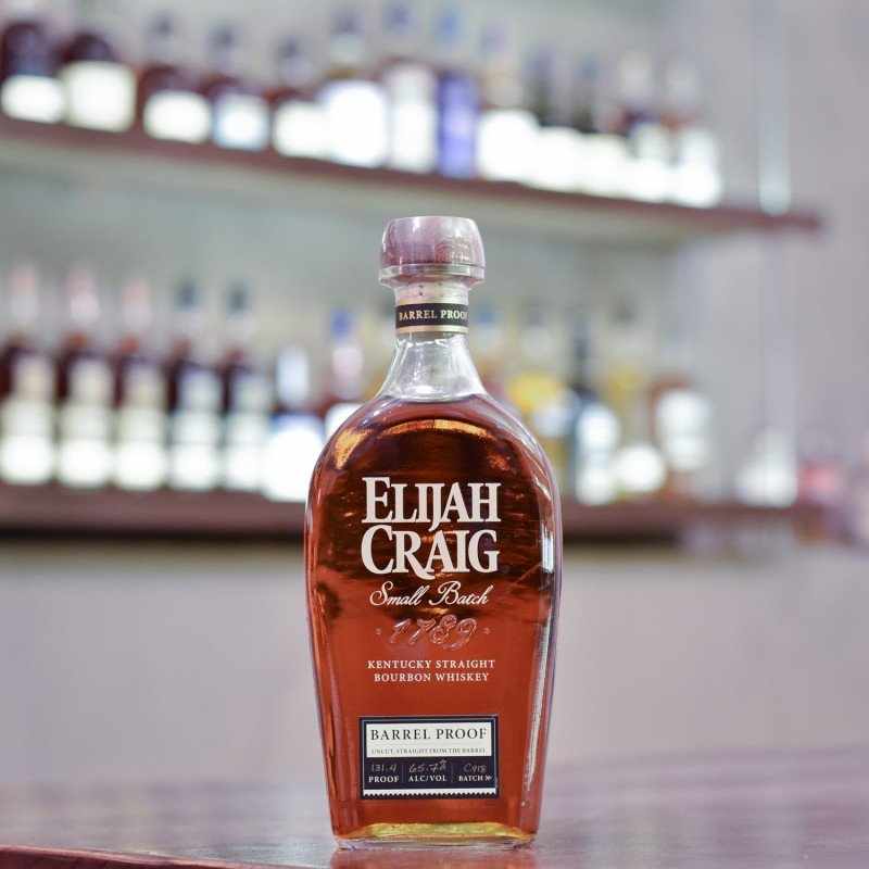Elijah Craig 12 Year Old Barrel Proof Batch C918