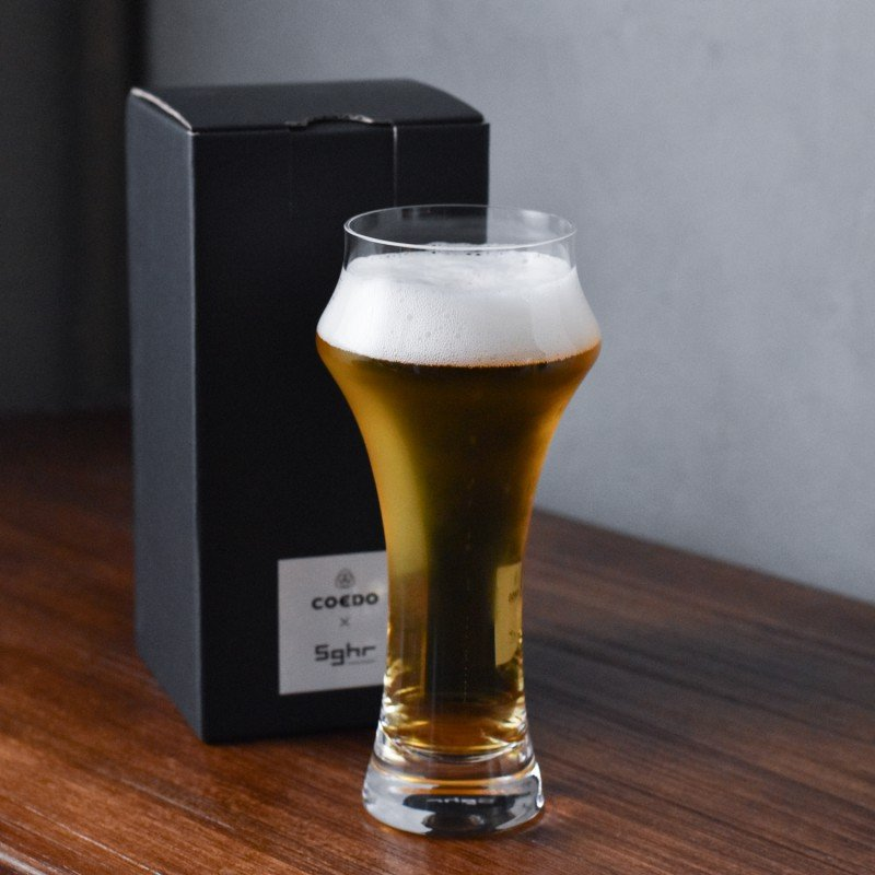 Sugahara x Coedo Beer Glass