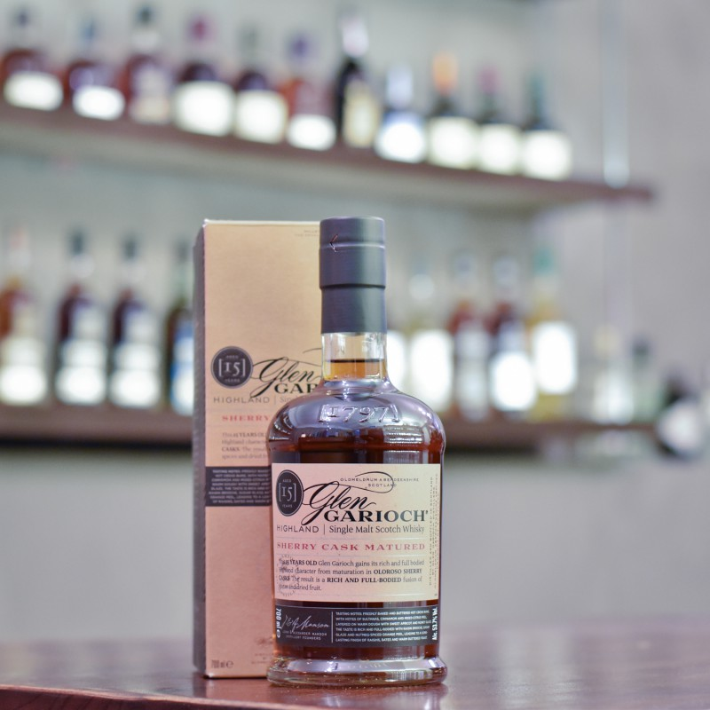 Glen Garioch 15 Year Old Sherry Cask Cask Strength