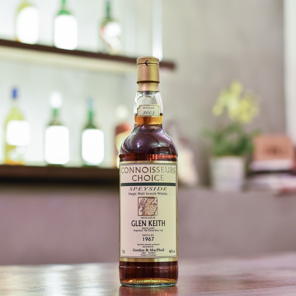 Gordon & MacPhail - Glen Keith 36 Year Old 1967 Connoisseurs Choice