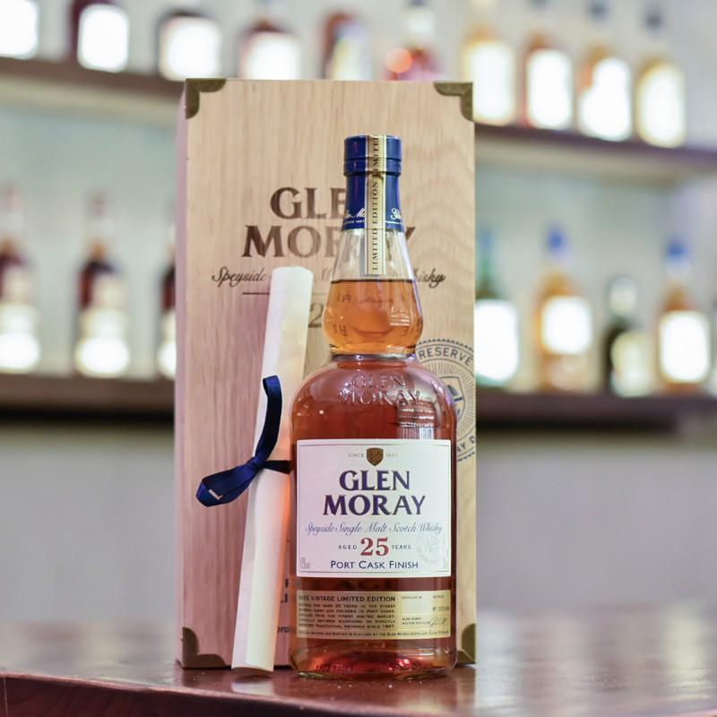 Glen Moray 25 Year Old 1988 Port Finish