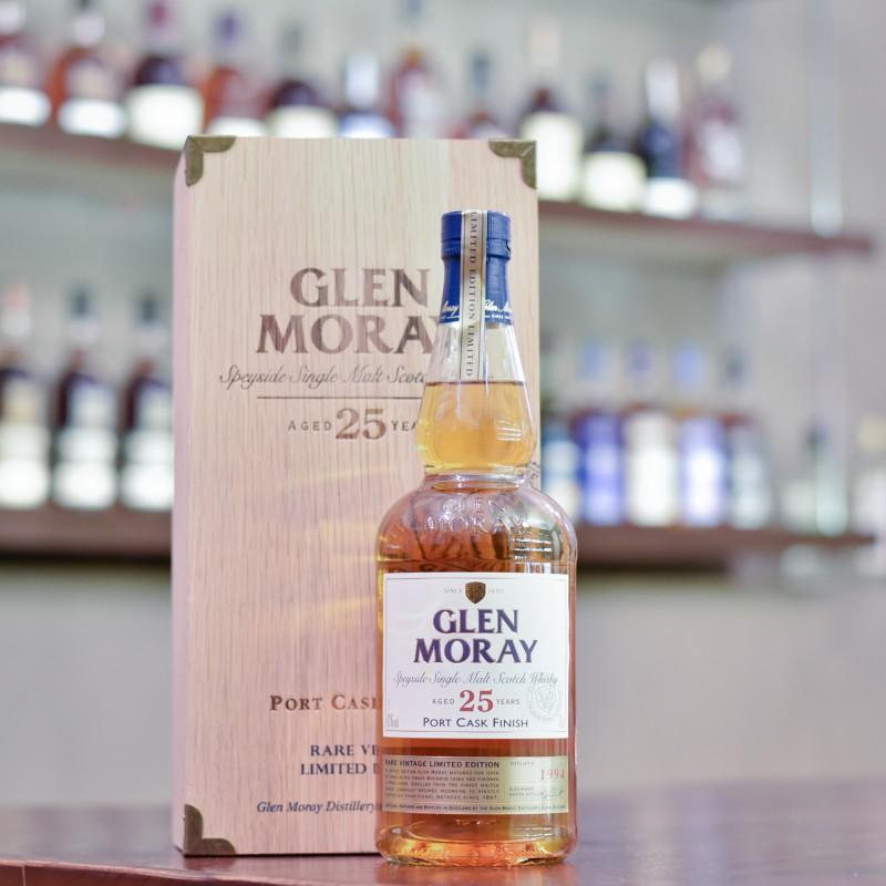 Glen Moray 25 Year Old 1994 Port Finish