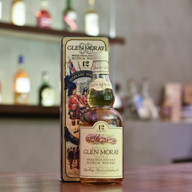 Glen Moray 12 Year Old - 1980s Bottling