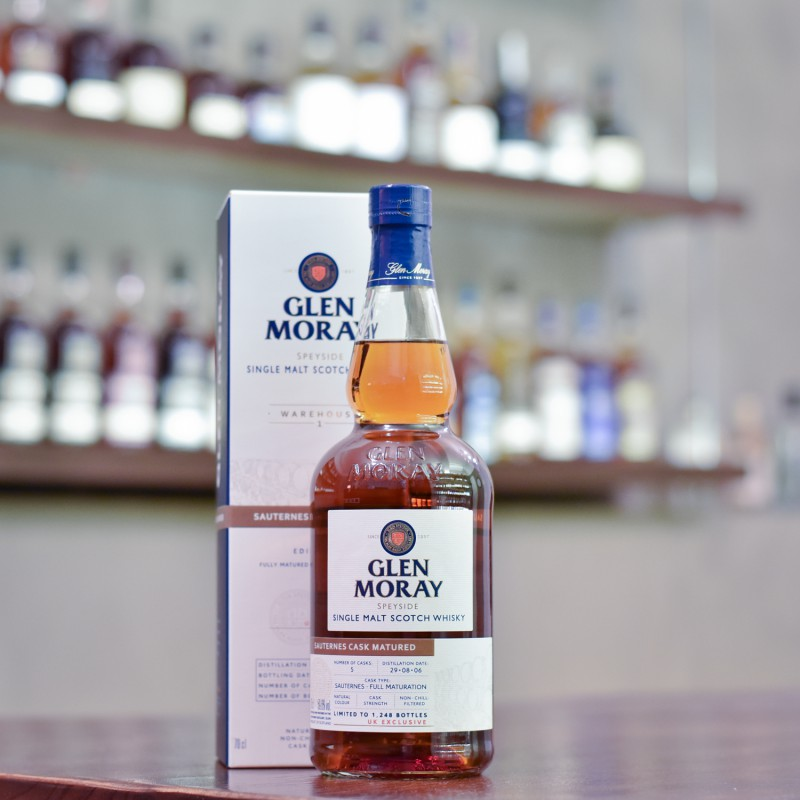 Glen Moray 14 Year Old 2006 Sauturnes Cask Matured Warehouse 1 Edition 1