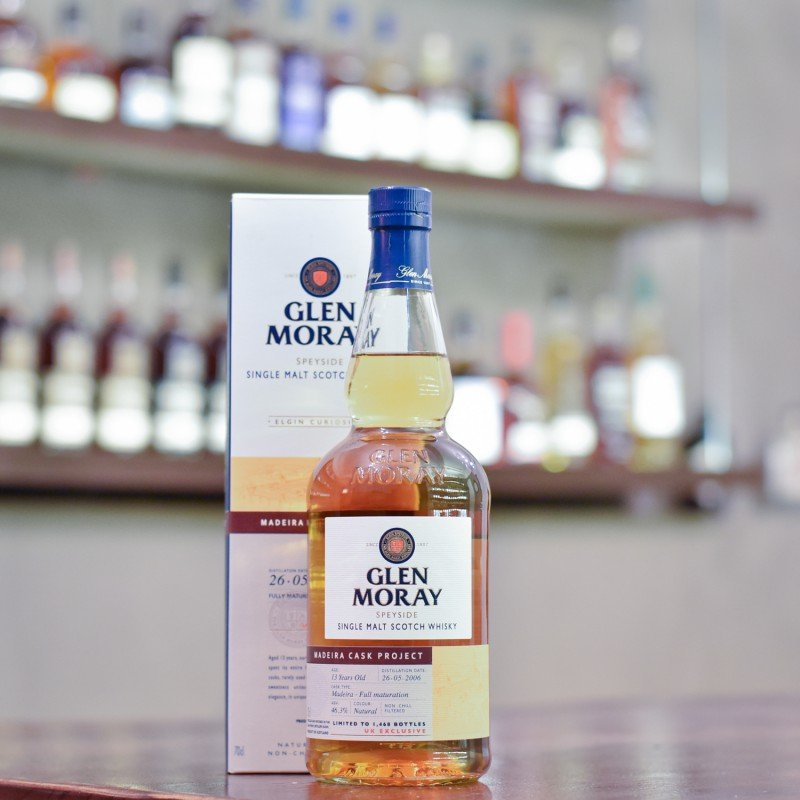 Glen Moray 13 Year Old 2006 Madeira Cask Project UK Exclusive