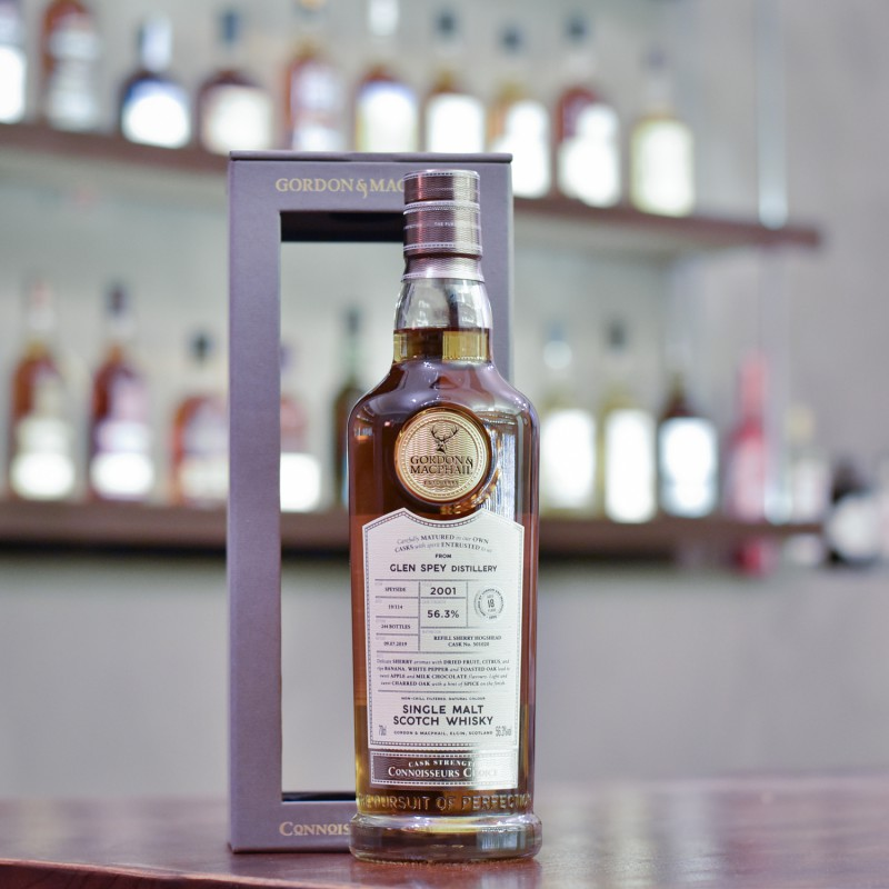 Gordon & MacPhail - Glen Spey 18 Year Old 2001 Connoisseurs Choice