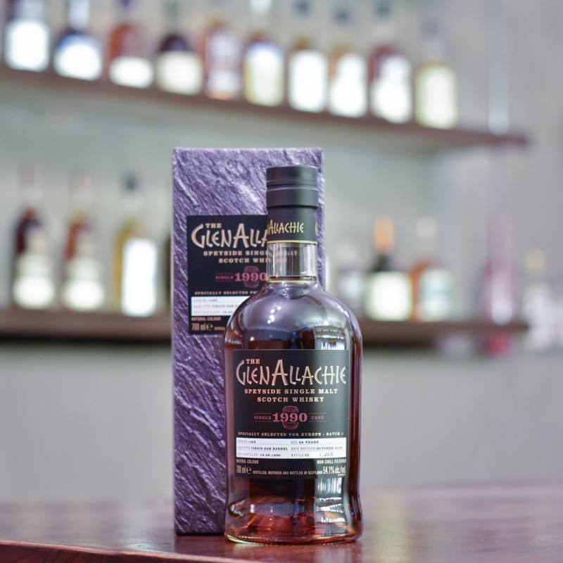 Glenallachie 28 Year Old 1990 for Europe Batch 1 Cask 1468
