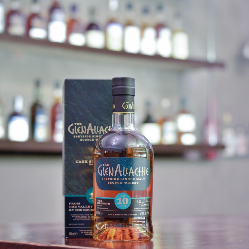 Glenallachie 10 Year Old Cask Strength Batch 1