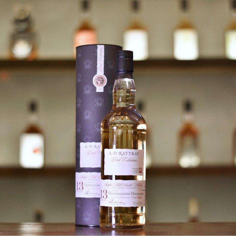 A.D. Rattray - Glenallachie 13 Year Old 2004 Cask 3560