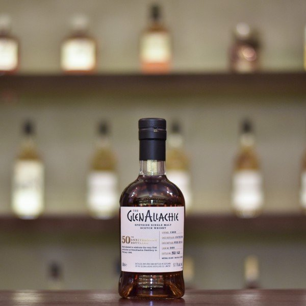 Glenallachie 28 Year Old 1989 50th Anniversary Bottling Cask 986