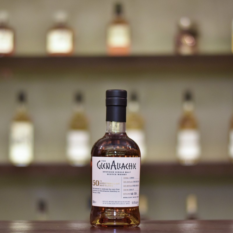 Glenallachie 27 Year Old 1990 50th Anniversary Bottling Cask 2517