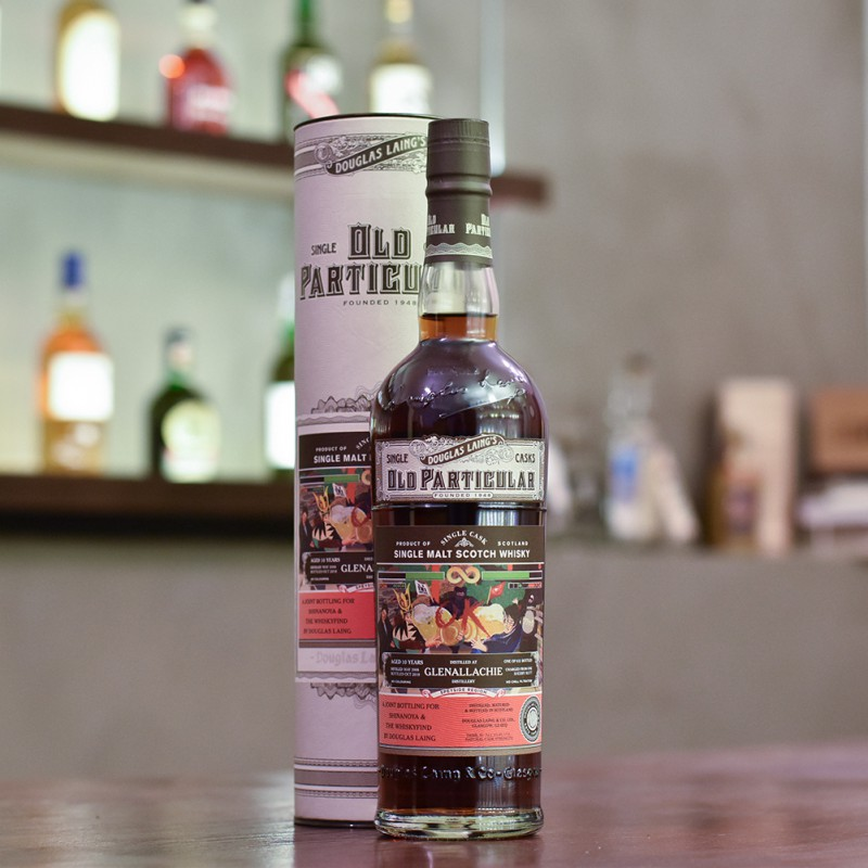 Old Particular - Glenallachie 10 Year Old 2008 for Shinanoya & The Whiskyfind