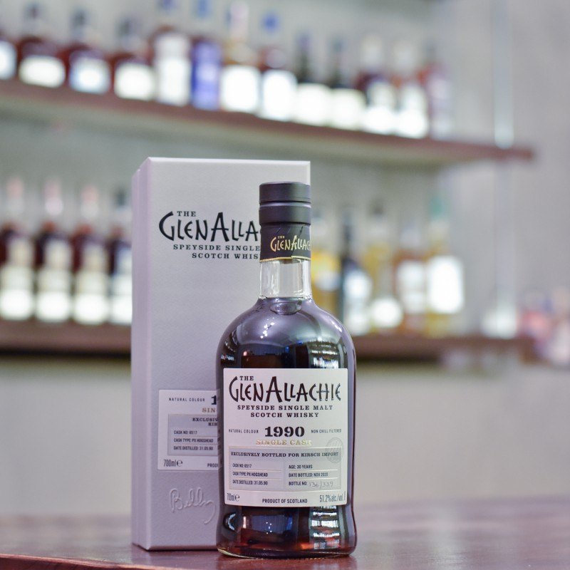 Glenallachie 30 Year Old 1990 for Kirsch Import Cask 6517